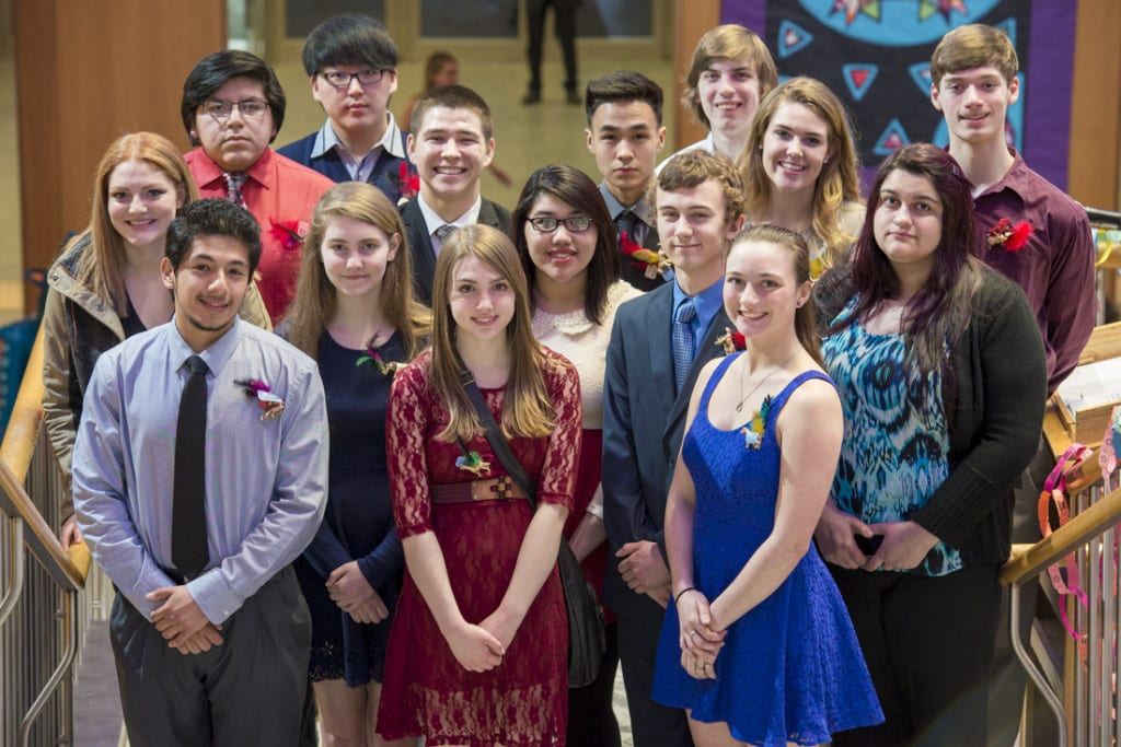 The 2015 Spirit of Youth Award Recipients